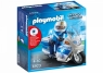 Playmobil City Action: Motor policyjny ze światłem LED (6923)Wiek: 4+