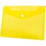 Teczka/koperta plastikowa na guzik Tetis A5 - żółta (BT610-Y)