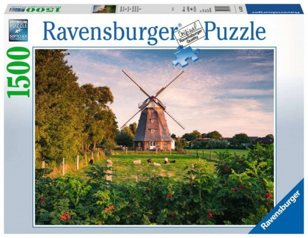 Puzzle 1500 elementów Windmill on the Baltic Sea (162239)