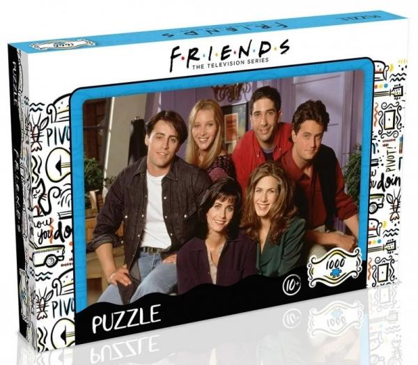 Puzzle 1000 elementów Przyjaciele Apartament (42239)