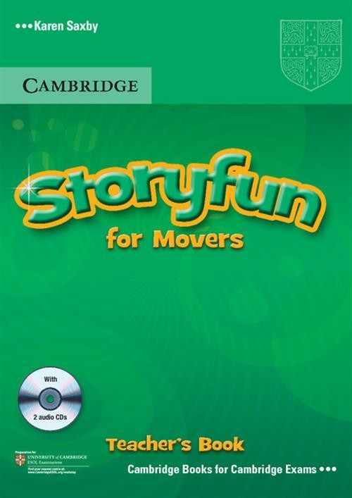 Storyfun for Movers Teacher's Book with 2CD Saxby Karen