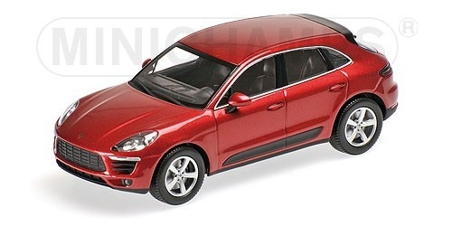 Porsche Macan 2013 (red metallic)