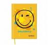 Notes A6/96k w kratkę, twarda okładka SmileyWorld