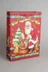 Torebka Świąteczna z okienkiem Pionowa Duża - Mix Wzorów