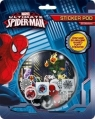 Spiderman. Naklejki puffy