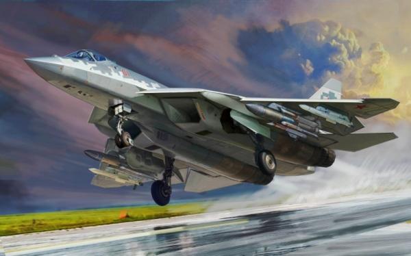 Model plastikowy Sukhoi SU-57 (4824)