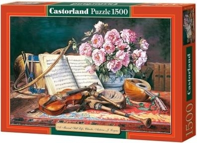 Puzzle 1500 Copy of A musical still life (151240) .