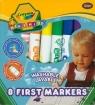 Flamastry Crayola zmywalne Mini Kids 8 sztuk  (8324)