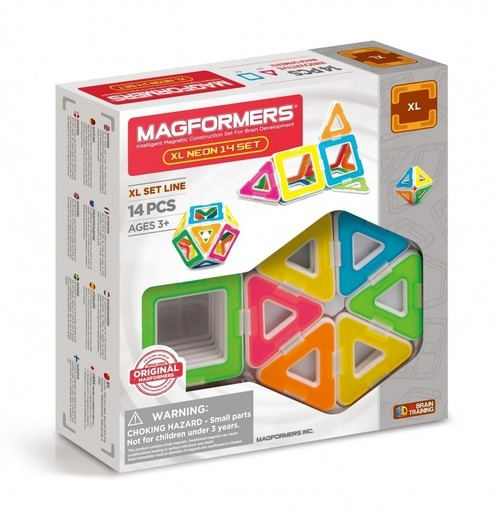 Magformers XL Neon 14 elementow