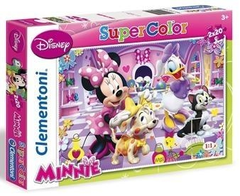 Puzzle 2x20 el. Minnie (24724)
