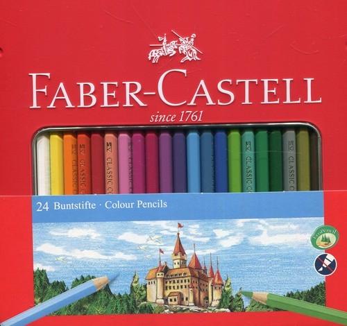 Kredki Zamek, 24 kolory (115824)