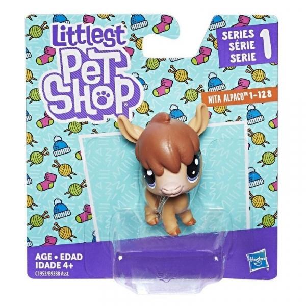 Littlest Pet Shop Figurki podstawowe Alpaca (B9388/C1953)