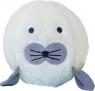 Piłka Fuzzy Ball S'cool Seal biała D.RECT