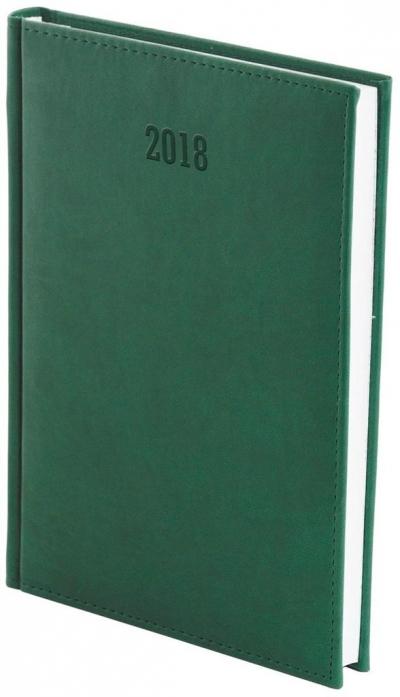 Kalendarz 2018 A4 Dzienny Vivella Zielony
