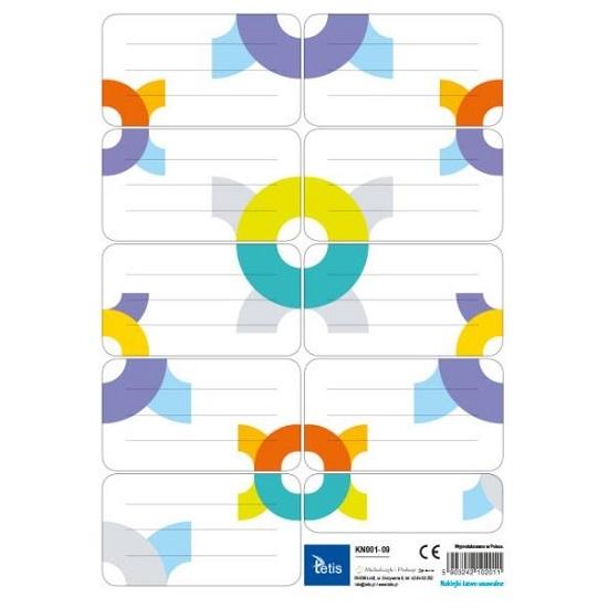 Naklejki na zeszyty Tetis - zestaw 09 (KN001-09)