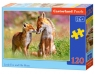 Puzzle Little Fox and His Mum 120 elementów