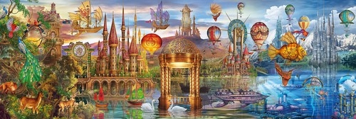 Puzzle Panorama Fantasy Panoramic 1000 (39424)