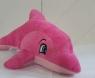 Delfin pluszowy różowy