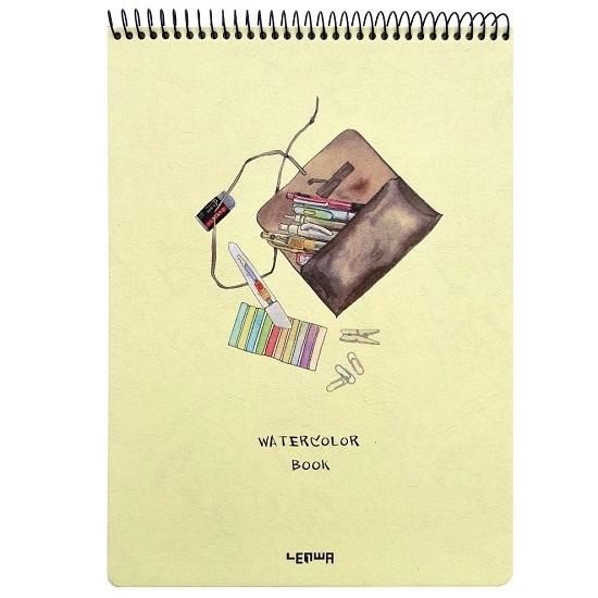 Kołoszkicownik incood. A4/24k gładki - Watercolor book