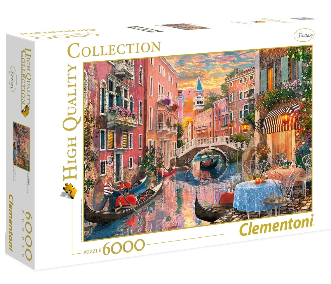 Puzzle High Quality Collection 6000: Venice Evening Sunset (36524)