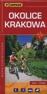 Okolice Krakowa Mapa turystyczna 1:55000 Praca zbiorowa