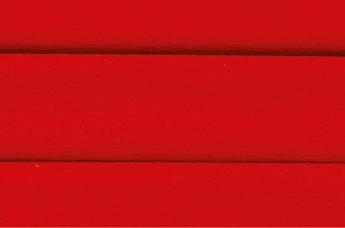 Bibuła dekoracyjna marszczona czerwona 10 rolek