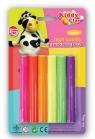 Plastelina Kiddy Clay neon 6 kolorów