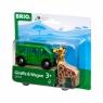 Brio World: Żyrafa i wagon (63372400)Wiek: 3+