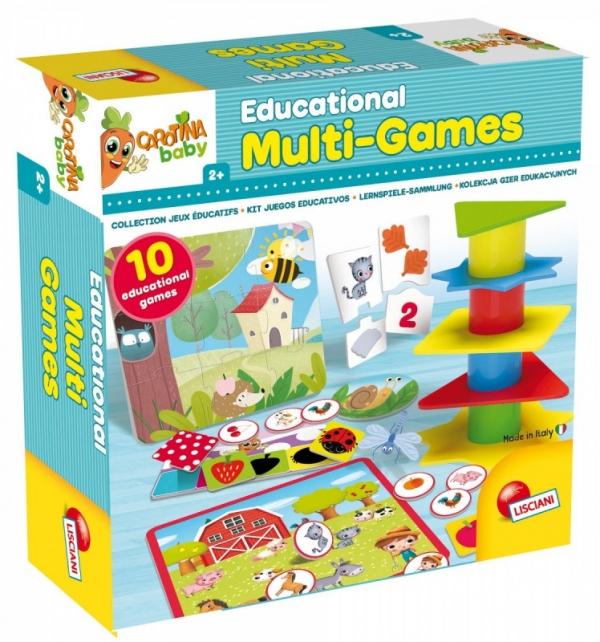 Carotina Baby Kolekcja gier edukacyjnych (304-80243)