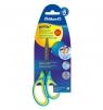 Nożyczki Griffix ergonomiczne szpiczaste - neon blue