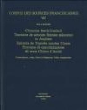 Chronica Fratris Iordani Tractatus De Adventu Fratrum v.VII P Beguin