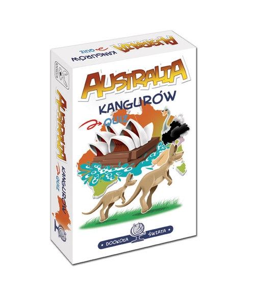 Dookoła świata Australia kangurów