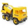 Middle Truck betoniarka żółta (32124)