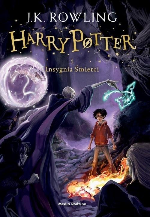 Harry Potter i Insygnia Śmierci (Uszkodzona okładka) Rowling Joanne K.