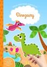 Moje pierwsze naklejanki Dinozaury