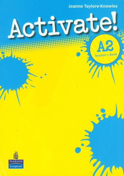 Activate A2 Teacher' Book Taylore-Knowles Joanne
