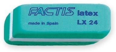 Gumki LX-24 lateksowe małe (24szt) FACTIS