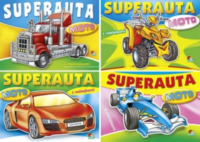 Kolorowanka. Super auta (x20) (20 Art 038