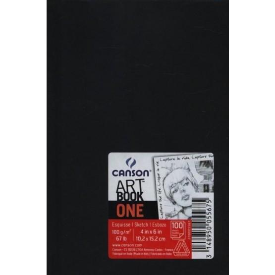 Szkicownik Artbook One, czarny, kieszonkowy (200 005 567)