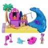 Polly Pocket: Wakacyjny zestaw - Słoneczna plaża (GTM66/GTM68)Wiek: 4+