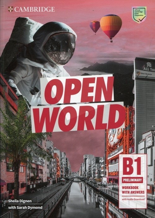 Open World Preliminary Workbook with Answers with Audio Download Dignen Sheila, Dymond Sarah