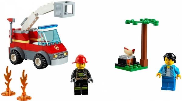 Lego City: Płonący grill (60212)