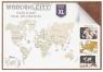 Mapa świata rozmiar XL kolor dark (wm503/504/2)<br />od 14 lat