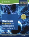 Complete Physics for Cambridge Secondary 1 Student's Book