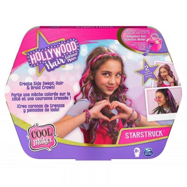 Zestaw ozdób COOL MAKER Hollywood Hair zestaw uzupełniający 20125276 (6058276/20125276)