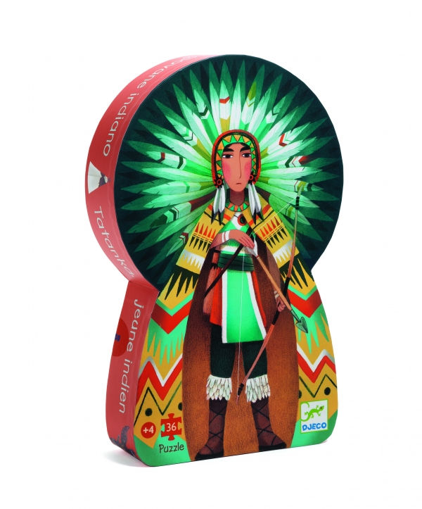 Puzzle postaciowe Indianin Tatanka (DJ07224)