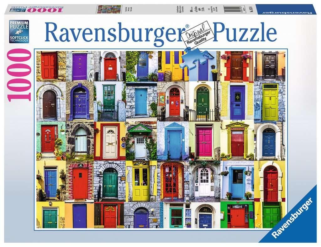 Puzzle 1000: Drzwi z całego świata (195244)