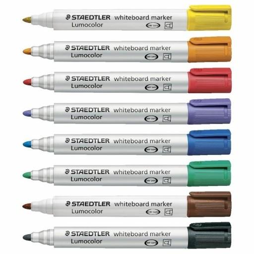 Marker Lumocolor whiteboard, 8 kolorów (380285)
