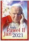 Kalendarz ścienny 2021 - św.Jan Paweł II