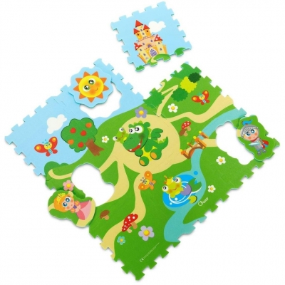 Miękkie puzzle Zamek